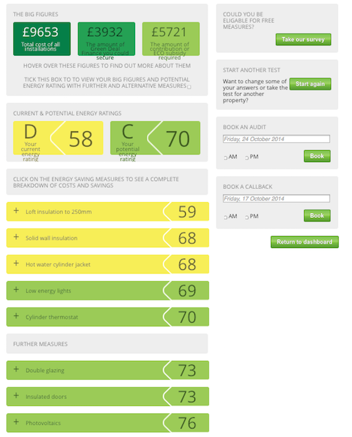 Energy Efficiency pre assessment tool